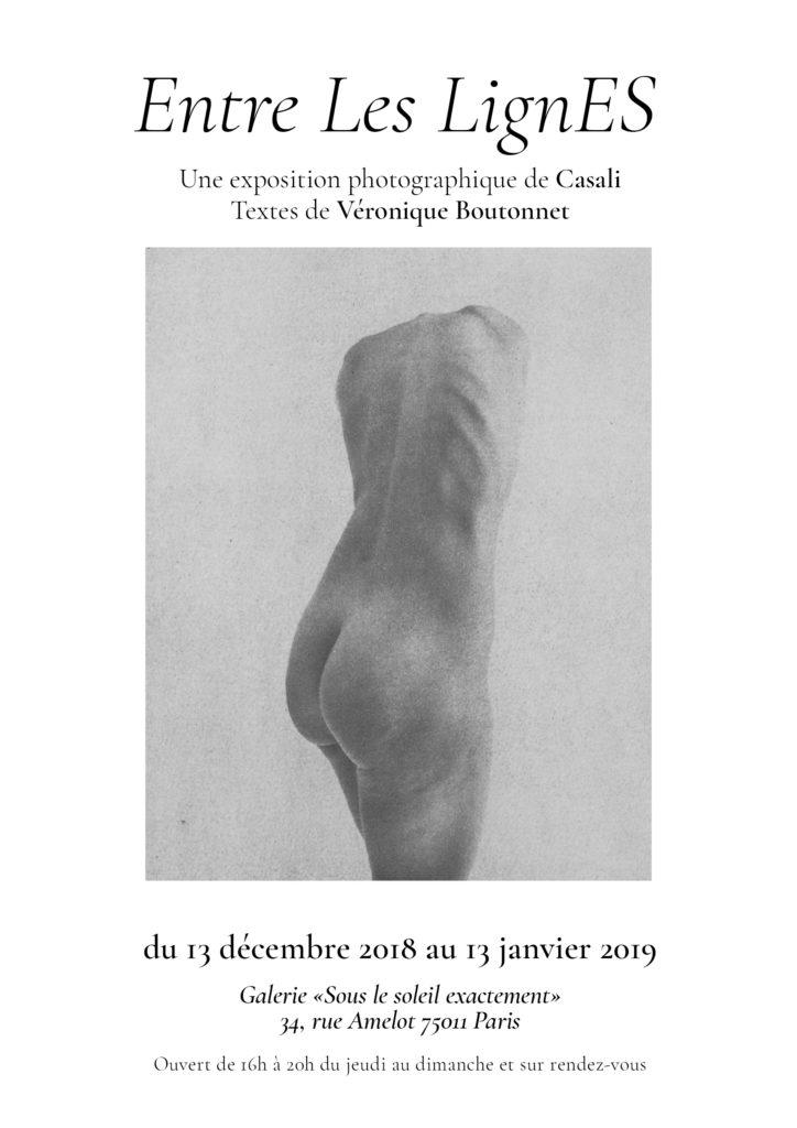 """Casali / Boutonnet - """"Entre les lignes"""" - Exposition photographique"""