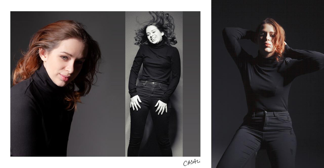 Casali - Portrait - Mon petit col roulé - Cathie
