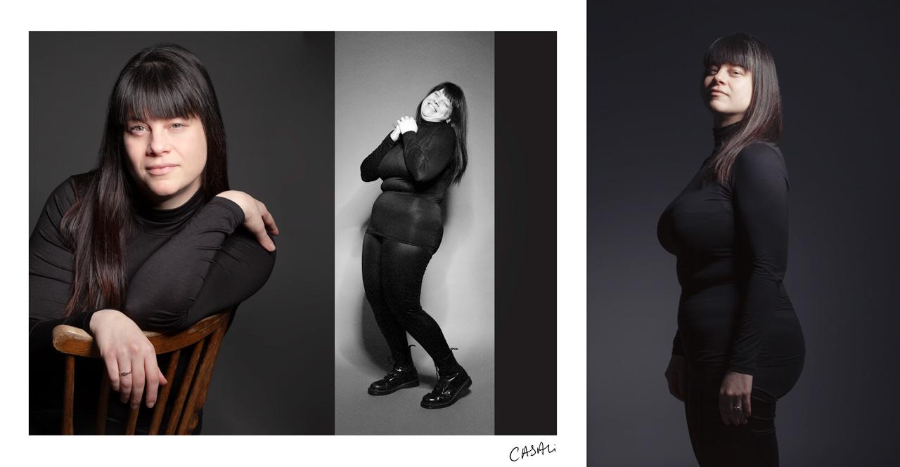Casali - Portrait - Mon petit col roulé - Laure